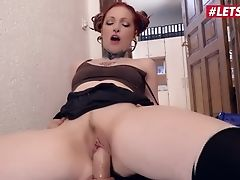 Letsdoeit - Hot Delivery Chick Fucked Hard In A German Office
