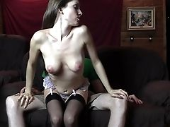 Inexperienced Female Tutor Tempts Deep-throats And Fucks Her Student