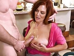 Insane Fuck Have Fun With A Big-boobed Matures