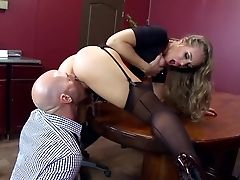 Office XXX With Huge-boobed Nicole Aniston