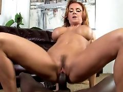 Crimson Haired Mummy Called Janet Mason Is Damn Hot While Railing Fat Big Black Cock