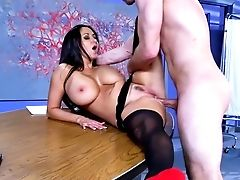 Stuning Ava Addams Is Ready For This Boy's Extra Large Prick