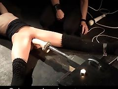 Russian Beauty Sensuously Tying Fuck Machine Predominated