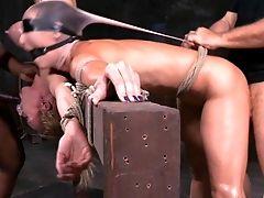 Wenona And Rain Degrey Going Thru The Worst Bondage & Discipline Torment Ever!