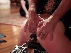 Subordinated Big Bottomed Whore Aiden Starr Gets Tied Up And Assfuck Banged