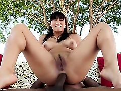Dark Haired Mia Li Loves The Warmth Of Mans Hard Worm Deep Down Her Hatch