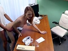 Hot Czech Patient Hungers Hard Penis