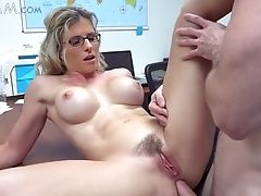 Lusty Serious Blonde Manager Cory Chase Penalizes Her Lazy Employee In A Horny Way