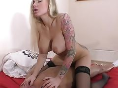 Huge-boobed Kayla Green Loves Sperm Cascading Out Of Her Puss