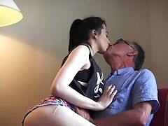 Grandfather Fucks This Youthful Dame Like A Bull