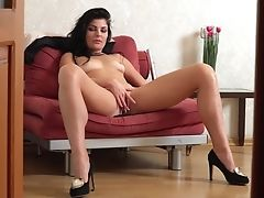 Lonely Mommy Milena Is Masturbating Moist Labia And Dreaming Of Your Big Hard Dick
