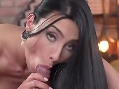 Sweet Dark Haired With Big Tits, Ideal Scenes Of Dirty Romance