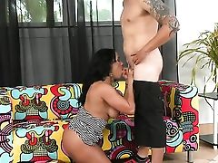Angel Faced Senorita Stunner Rich Cannon With Sweet Breasts And Trimmed Twat Is Nosey About Taking Jizz Shot On Her Pretty Face