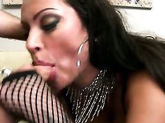 Dark-haired Nikita Denise With Phat Booty Is Good At Meat Pole Sucking And Loves It After Backdoor Fuckfest