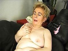 Blonde Granny Getting Off - Julia Reaves
