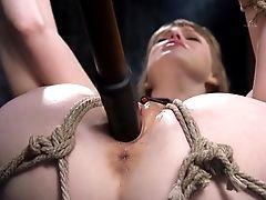 Intense Tying And Screaming Orgasms