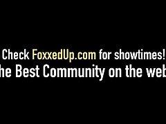 Hot Black Beauty Jenna Fox & Skylar Madison Share A Stiffy!