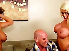 Hot Threesome Scene With Alura Jenson, Johnny Sins And Karen Fisher
