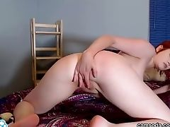Camsoda - Bree Daniels Ginger-haired Knockout Onanism
