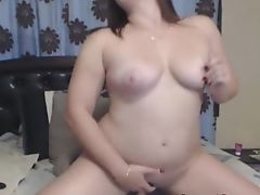 Charming Big-titted Stunner Gets Fucked With Her Faux-cock