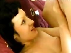 Diminutive Tits Maiden Yummy Snatch Logged Hard-core In Bedroom