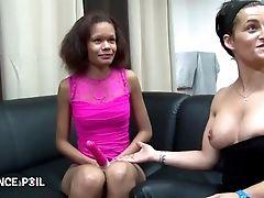 Petite Metisse Black Se Fait Demonter Pour Sonny Casting Porno