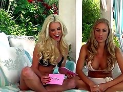 Nicole Aniston And Another Honey Go Sans Bra And Demonstrate Off