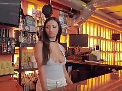 Romanian Stunner Alyssia Kent Gives Her Head And Gets Fucked In A Bar