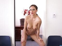 Hot Striptease By Hookup-appeal Brit Ultra-cutie Tina Kay
