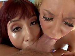 Sasha Wweet And Courtney Taylor Are Two Dick Greedy Bitches