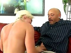 This Nubile Whore Whitney Grace Is So Jealous Of Her Mum, Cause Her Stepparent Devlin Weed Has A Ample Black Shaft In His Pants. So She Determines To