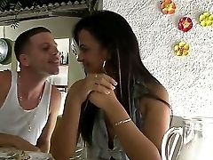 If You Are On A Tourist Travel Around Brazil, And Have Nothing To Do Mornings, Invite A Pretty Fatty Dark Haired To Have A Drink With You Like This Ma
