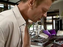 Blonde Whore Anita Hengher Is Getting Fucked So Hard By Christian Clay And Rocco Siffredi. Two Dudes With Enormous Massive Penises Are Drilling Faceho