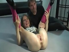 Gang-fuck Fist Insertion Her Wrecked Teenage Snatch