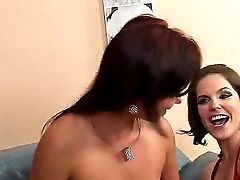 Amazing And Awesome Lezzy Scene With A Sweet Nymph Alysa And Bobbi Starr