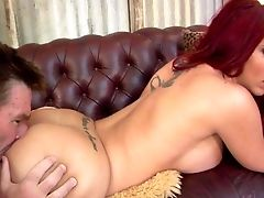 Naked Curvy Ginger-haired Cougar Kelly Divine With Big Breasts And