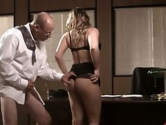 Dweeb Chief Fucks Hookup-appeal And Insatiable Assistant Angelica Raven