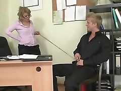 Hot Office Bang-out With Old Matures Bitch