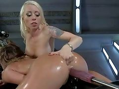 Lorelei Lee And Kristina Rose Are Two Hot Blooded Girl-on-girl