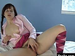 Mummy Helena Masturbating Her Hairy Twat
