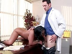 Nasty And Arousing Dark Haired Assistant Bella Reese Loves In Getting