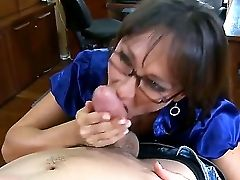 Matures Hot Brown-haired Schoolteacher Michelle Lay Wearing Glasses Is Sucking And Fucking The Horny And Strong Dude Xander Corvus After An Amazing De
