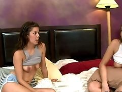 Sweet All Girl Gal Celeste Starlet Makes Fresh Friend And Has