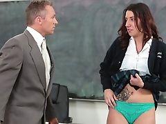 Virginal High-school Tart Fucked By Lecturer