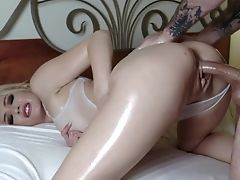 All Well-lubed Honey In Sexy Undergarments Tiffany Fox Fantasies Of Fucking Rear End Wild