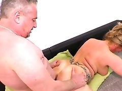 Chubby Big Titted Matures Lady Gets Fucked Rear End Style Hard Enough