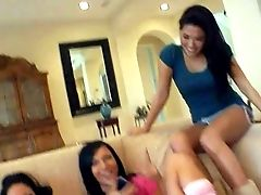 Ashli Orion, London Keyes And Mason Moore Are Three Playful