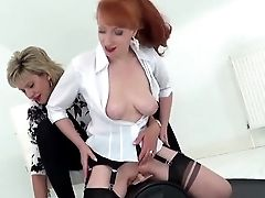 Lady Sonia And Crimson Xxx Hot Lezzy Sybian Saddle Joy