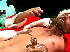 Horny Sandra Romain Fucks Santa In Amazing Role Have Fun Gonzo Fucking