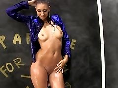 Gloryhole Scene With Nasty Kitty Jane